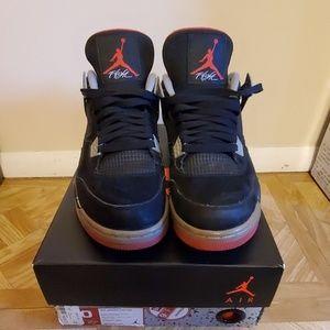 Air Jordan's Retro 4 Bred
